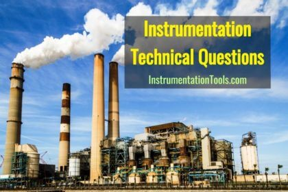 Instrumentation Technical Interview Questions and Answers