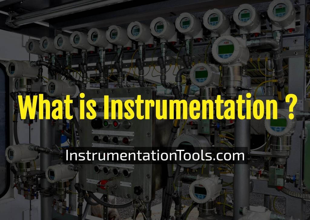 What is Instrumentation and Control