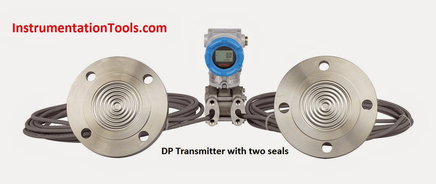 DP Transmitter with two seals applications