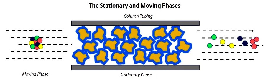 gas-chromatograph-stationary-moving-phases