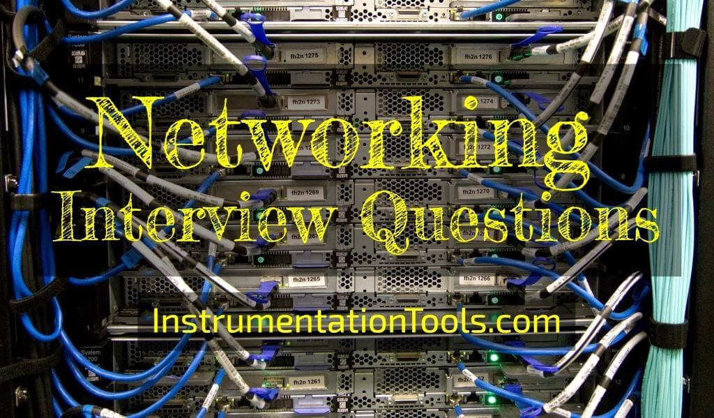 Networking Interview Questions