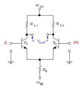 Differential amplifier MOSFET