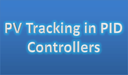 PV Tracking in PID Controllers