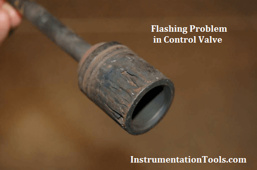 Flashing Problems in Control Valve