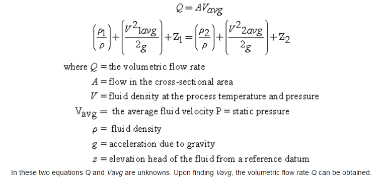 Differential Pressure Flow Meter Technology Equation
