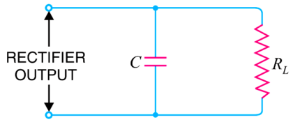 Capacitor Filter Operation