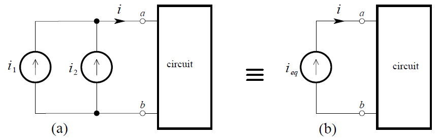 Combining Independent Current Sources in Parallel