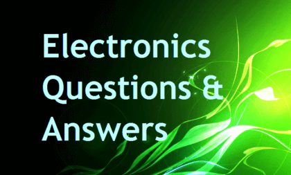 electronics-questions-and-answers