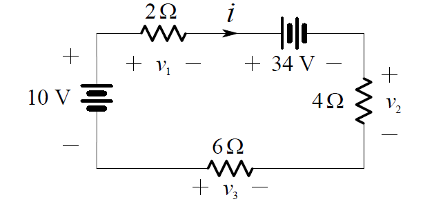 kirchhoffs-voltage-law-example-circuit