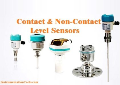 Contact and Non-Contact Level Sensors