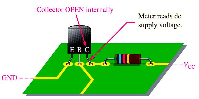 transistor-fault-identification