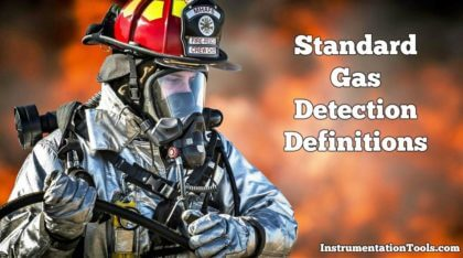 Gas Detection Definitions