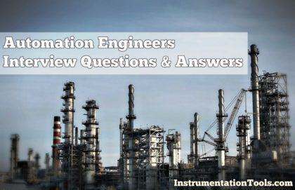 Automation Engineers Interview Questions