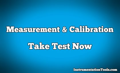 Measurement and Calibration Objective Questions and Answers