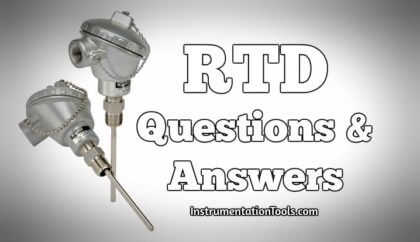 RTD Questions & Answers