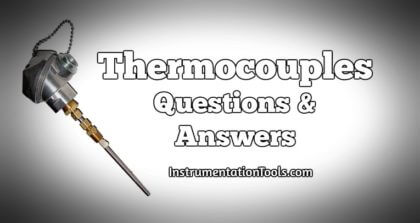 Thermocouple Questions and Answers