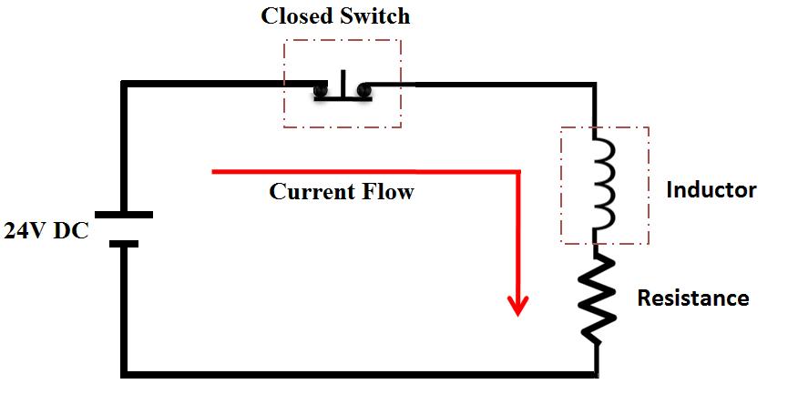 Circuit without Freewheeling diode