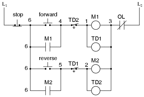 Relay Motor Logic Circuit