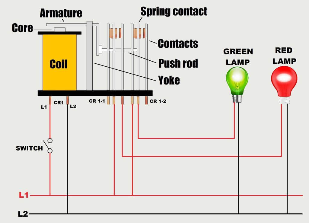 Relay Wiring Schematic