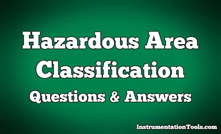 Hazardous Area Questions & Answers