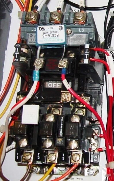 Three-Phase Electric Motor Contactor