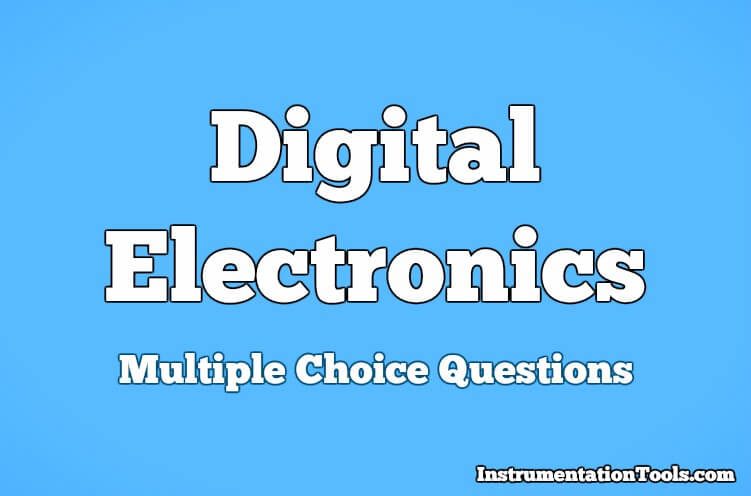 Digital Electronics Multiple Choice Questions