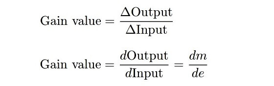 Proportional control mode