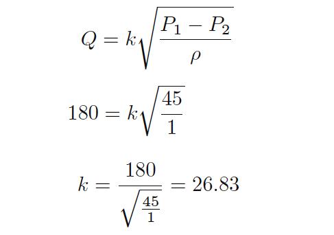 Volumetric Flow Calculations