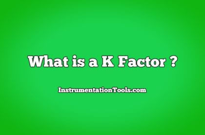 What is a K Factor