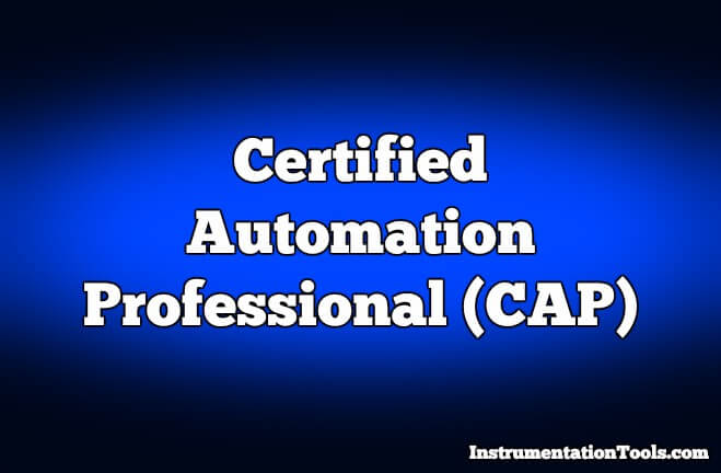 Certified Automation Professional (CAP) Exam Questions