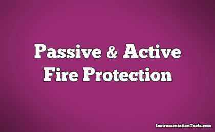 Difference Between Passive and Active Fire Protection