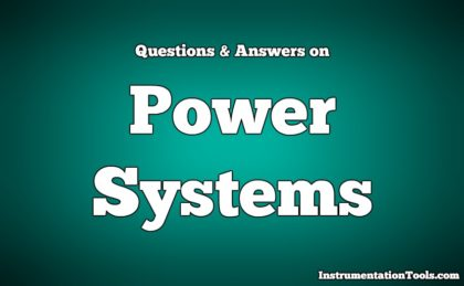 Power Systems Questions & Answers