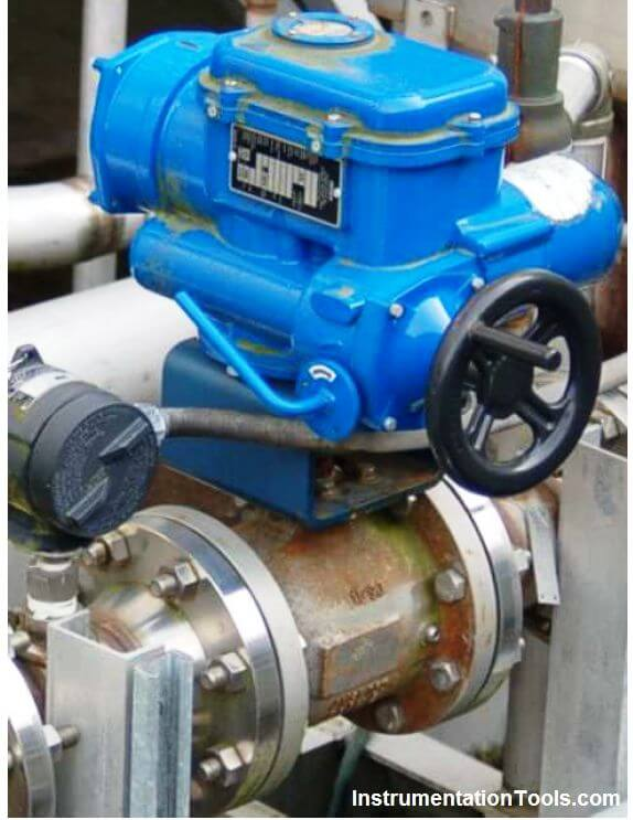 motor operated valve (MOV) principle