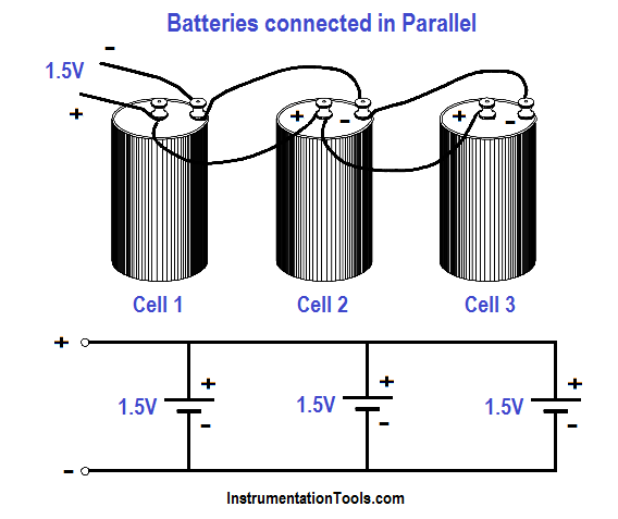 Batteries Connected in Parallel