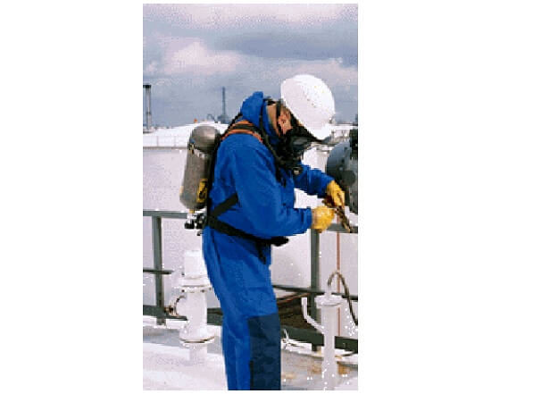 Necessary safety precautions (PPE) on toxic products