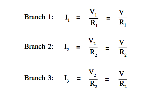 Parallel Circuit Parallel Current Calculations