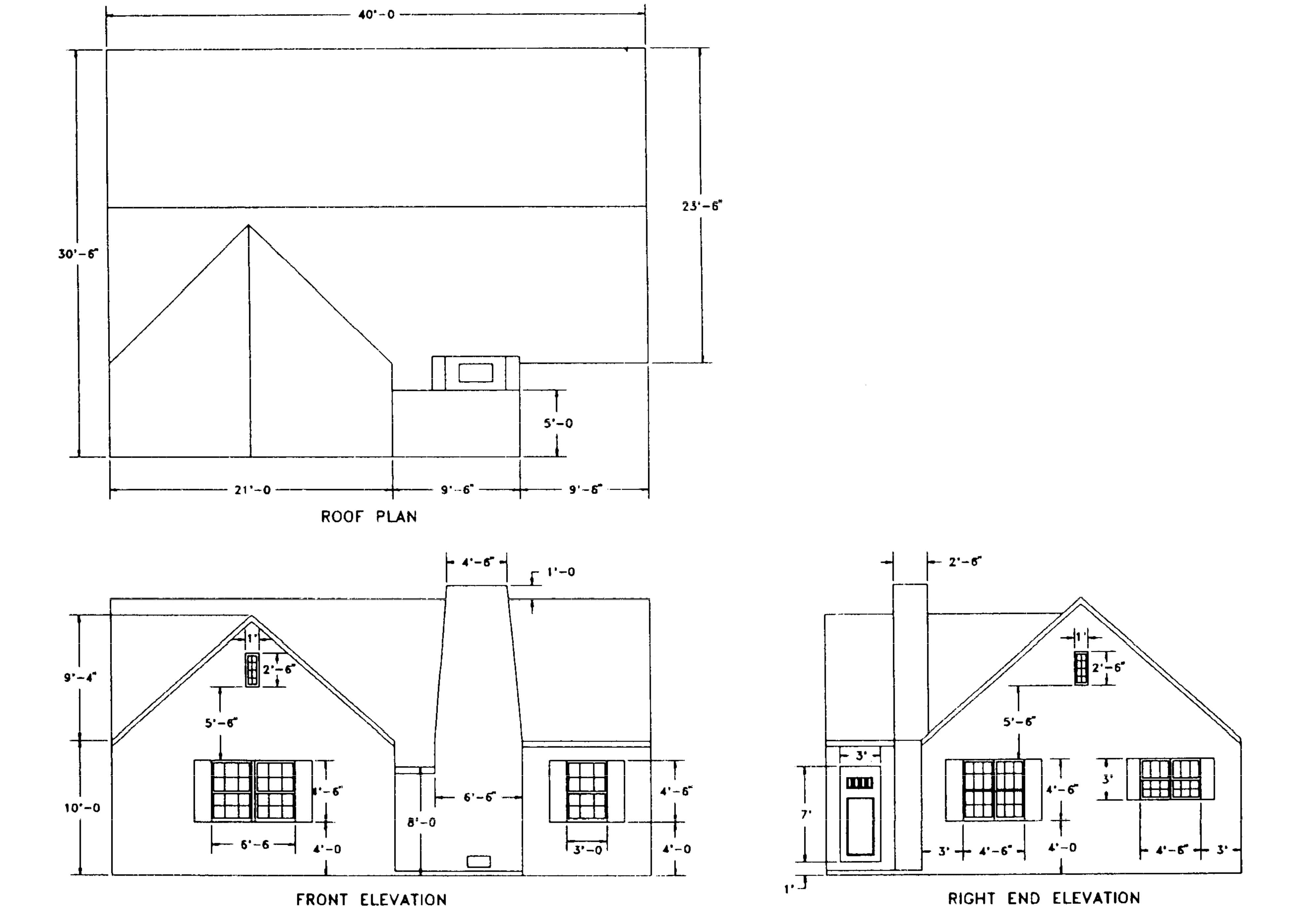 Example Orthographic Projection