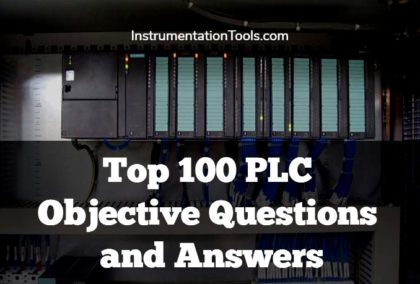 Top 100 PLC Objective Questions and Answers