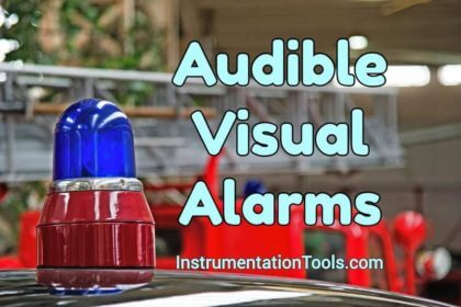 Fire and Gas system Audible and Visual Alarms