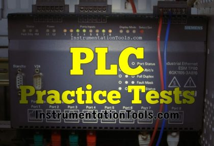 Programmable Logic Controller Practice Tests