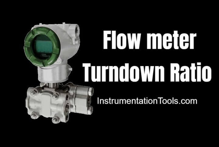 Flow meter Turndown Ratio