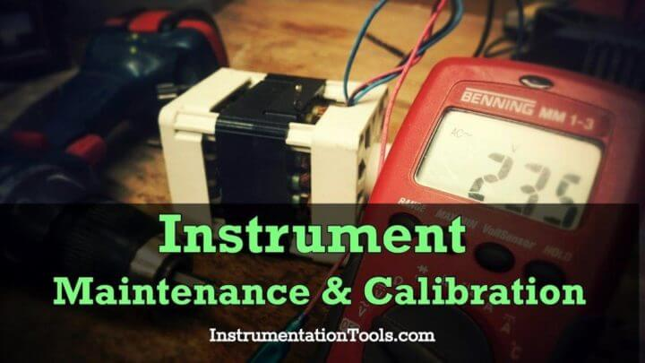 Instrument Maintenance and Calibration System