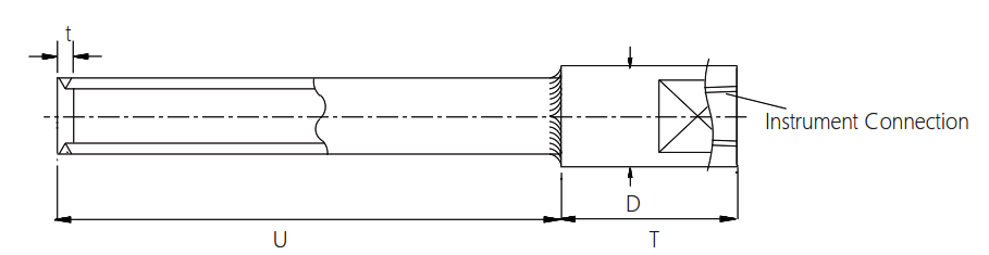 Fabricated Weld In Thermowell