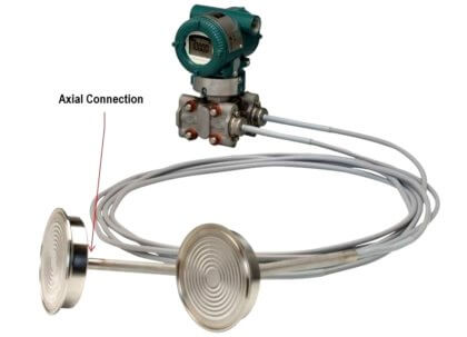 Axial Diaphragm Seal Connection