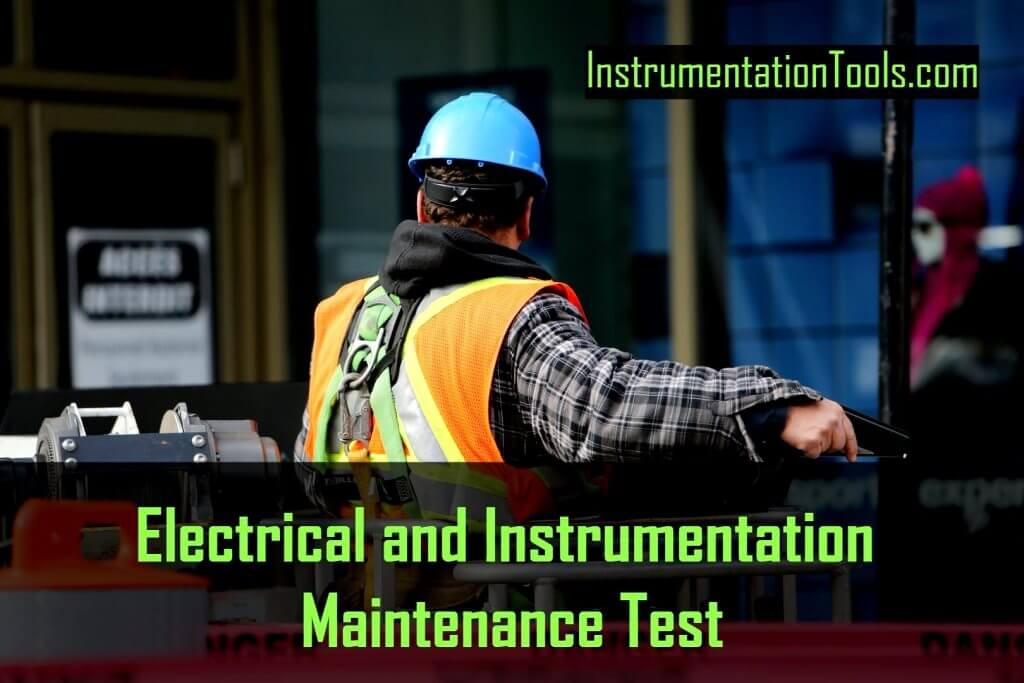 Electrical and Instrumentation Test