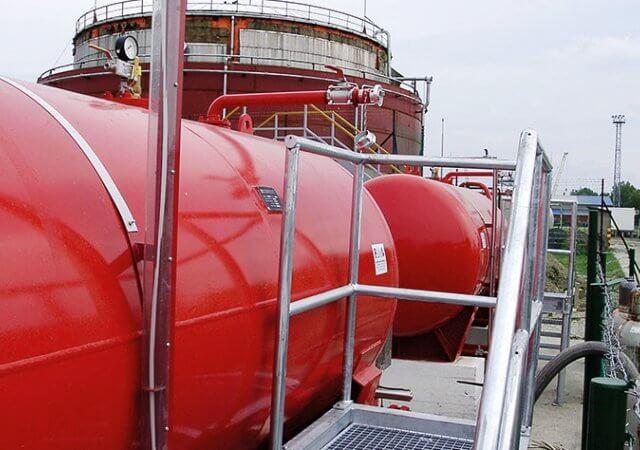 Storage Tank Fire Fighting System
