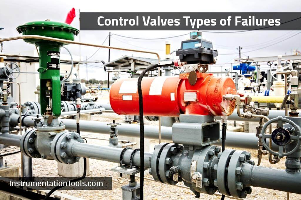 Types of Failures in Control Valves