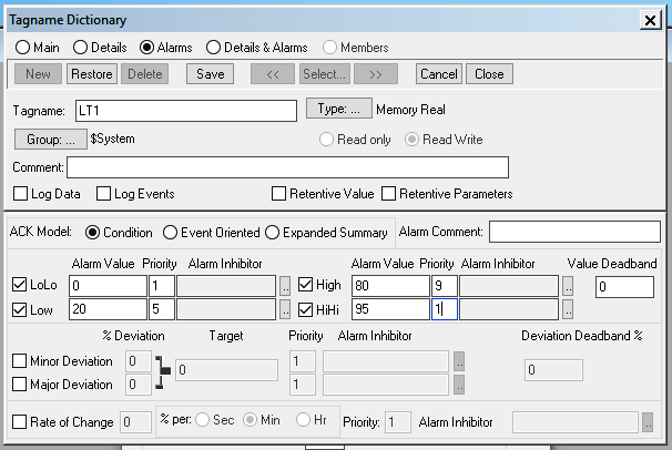 Configure Tag in InTouch Scada
