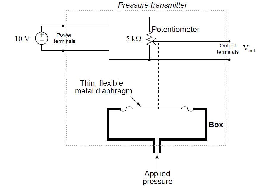Simple Pressure Transmitter Circuit