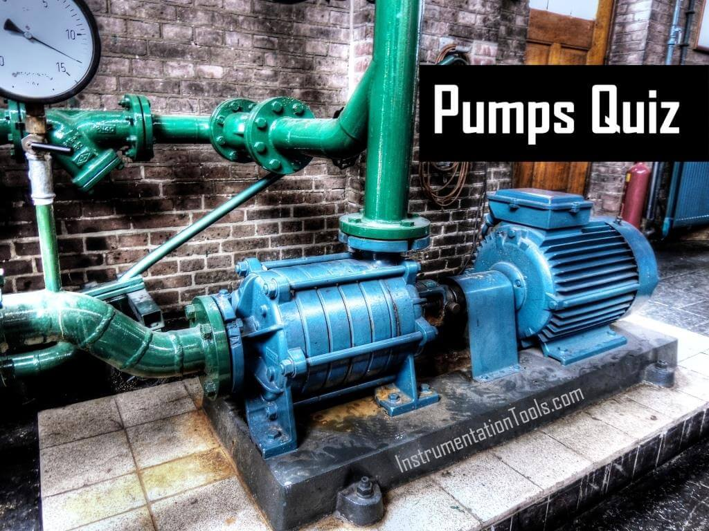 Pumps Quiz